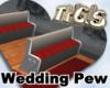 Wedding Pew