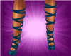 (S)Lace Shoes Blue