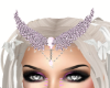 soft pink angel crown