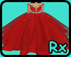 [Rx] Queen Gown Red
