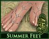 Summer Feet Natural SLV