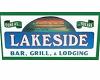 LAKESIDE BAR SIGNAGE