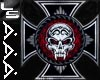iron cross flesh plugs