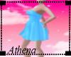 sexy blue summer dress