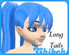 Electric Blue (L) Tails