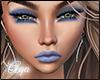 Blue makeup skin V2