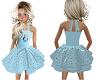Kids Elsa Blue Dress