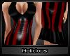 !M Bettie Dress: Red S