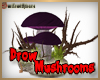 Drow Rock Mushrooms