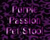 Purple passion Stool