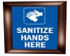 Hand Sanitizer Wall Sign