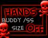 Red Skulls HandsOff Bo