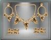 Fall Amber Jewelry Set