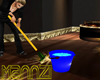Ani. Blue Bucket and Mop