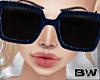 Blu Vintage Sunglasses Q