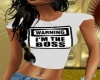 im the BOSS shirt