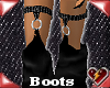S urban black boots