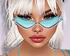 ★Cyan glasses
