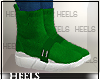 !H! SockSneakers Green