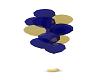 BlueGold B-Day Balloons1