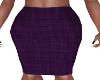 II-Grape Pencil Skirt