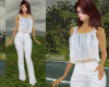 TF* White &blue Outfit