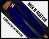 Mix N Match Blue Cargo