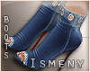 [Is] Denim Ankle Boots