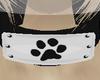 u; Furry paw neckband