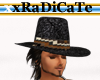 Indian Band Cowboy Hat