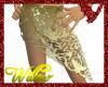 WF>Lace Sarong Gold