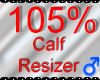 *M* Calf Resizer 105%