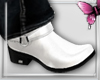 *P White boots
