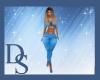 Blue Capris