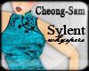 Sylent Wei Cyan Dress