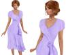 TF* Purple Wrap Dress