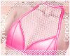 Pink Fisnhet Halter