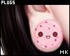 金. Pink Cookies Plugs