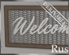 Rus DERIV Welcome Sign