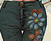 Flower Trousers skinny