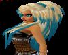 blonde blue violette
