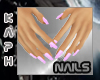 Small Hand - Pink nails