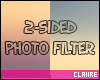 C|2-Sided Photo Filter