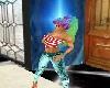 Leanne Rainbow Ponytail