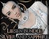 Liesen Silver & Sapphire