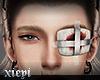. eye-patch blood