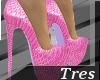 3|Pink Louboutin Heels