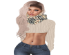 Cropped B Sweater