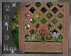 Rus: Fence + flowers 2