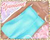 [Y] Cyan Towel Wrap